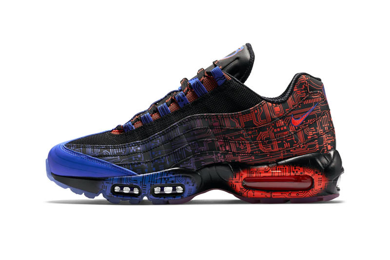 "Nike が2015年発表の Air Max 95 ""Doernbecher Freestyle"" を再リリース"