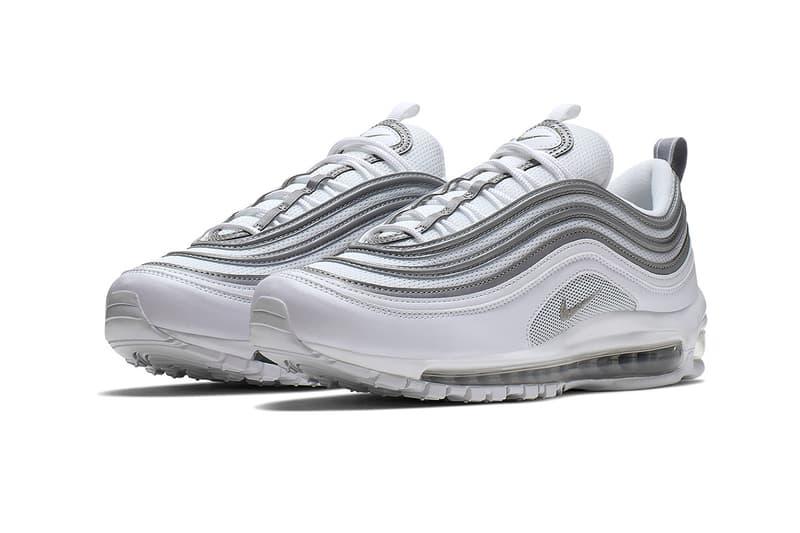 ナイキ エアマックス 97 AM97 Nike Air Max 97 silver white grey bullet release date details first look classic colorway