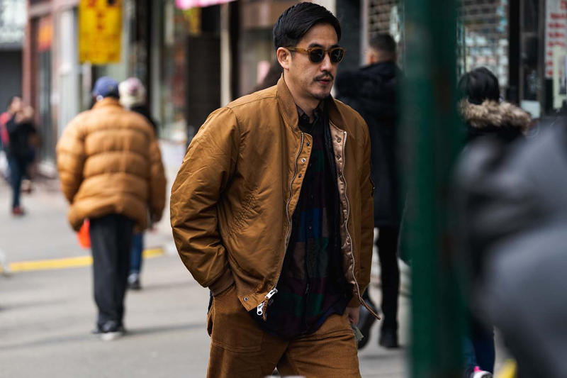 ニューヨークファッションウィーク ストリートスタイル ストリートスナップ コレクション New York Fashion Week FW19 fall winter 2019 city Street Style Snaps outfits photograph calvin klein dior nike air max tn tuned palm angels louis vuitton off white blazer puma ader error prada 18 east