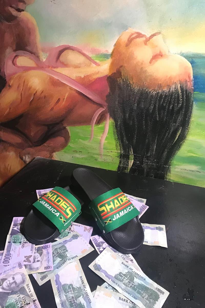 リチャードソン ジャマイカ ストリップクラブ コラボ カプセルコレクション Richardson shades jamaica nightclub exotic dancers strippers tee shirt long sleeve hoodie key chain pouch towel slide sandals
