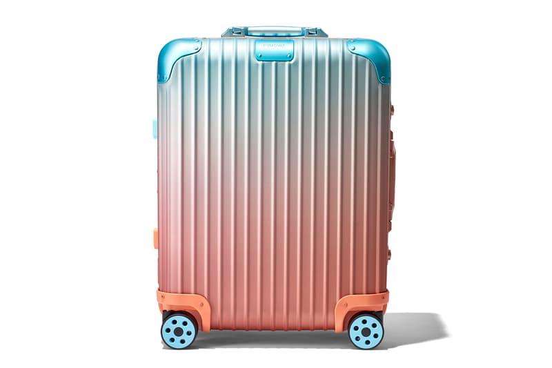 リモワ  アレックス・イスラエル スーツケース コラボレーション ラゲージ Rimowa x Alex Israel Suitcase Collaboration suitcases travel luggage art paintings los angeles  Frieze Art Fair