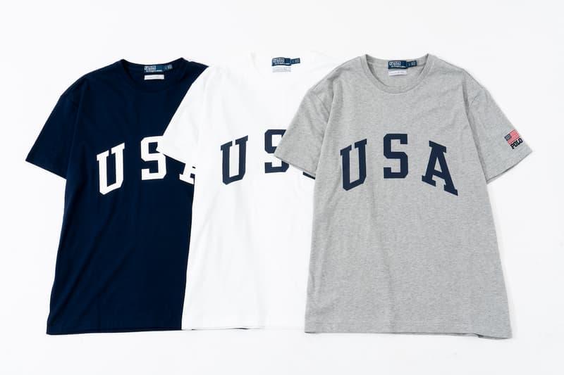 """Ron Herman が POLO Ralph Lauren に別注をかけた""""USAロゴ""""コレクションを発売 USA旋風に追い打ちをかけるモダンなハーフジップスウェット、Tシャツ、キャップのミニカプセルが爆誕"""