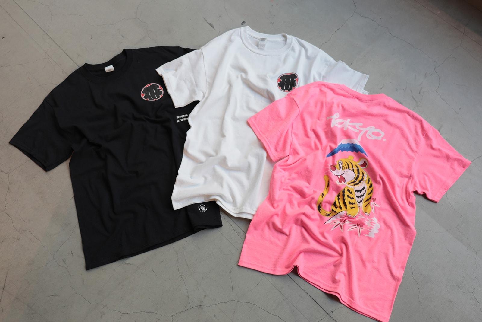 スニーカーウルフ sneakerwolf 東京さいこう計画 漢字グラフィ Kanji-Graphy アシックスタイガー ASICSTIGER オンライン GEL-KAYANO TRAINER Tシャツ スニーカー