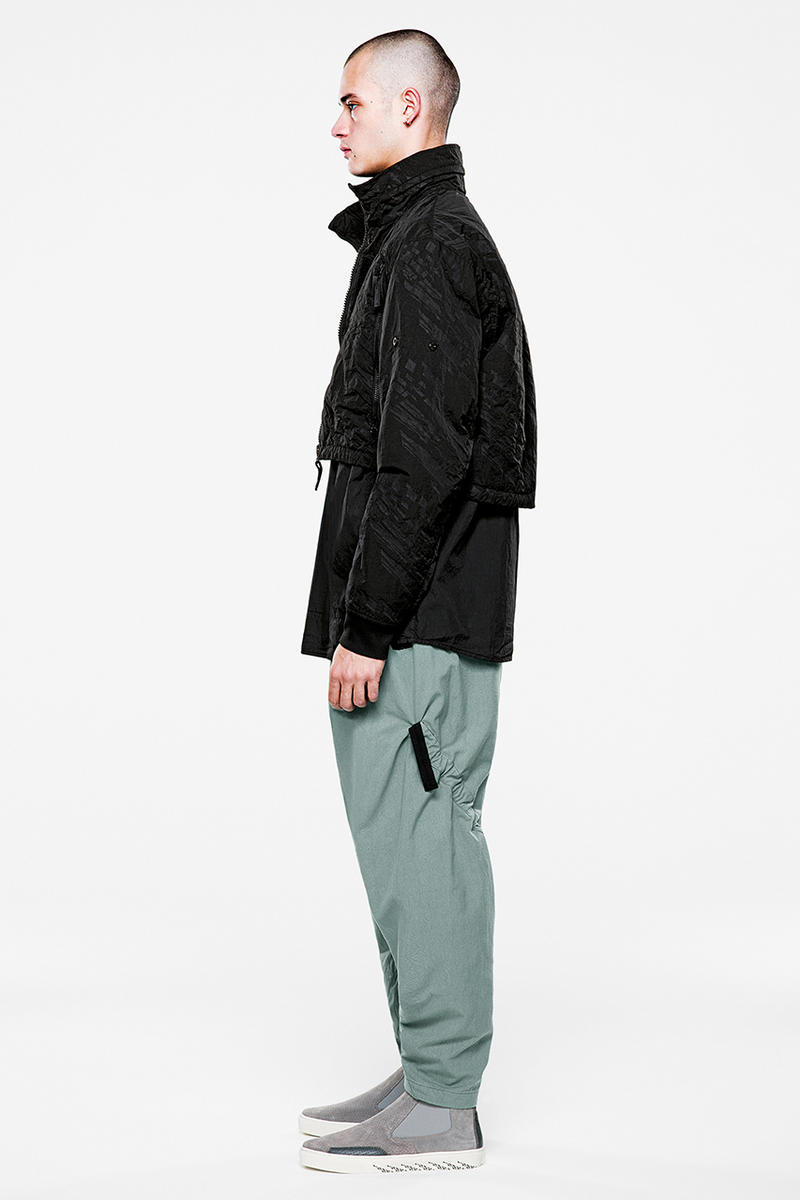 ストーン・アイランド シャドウ・プロジェクト アクロニウム エロルゾン・ヒュー Stone Island Shadow Project Spring/Summer 2019 Lookbook Lookbooks Fashion Clothing Errolson Hugh Apparel Footwear Print Innovative Buy Cop Purchase First Look