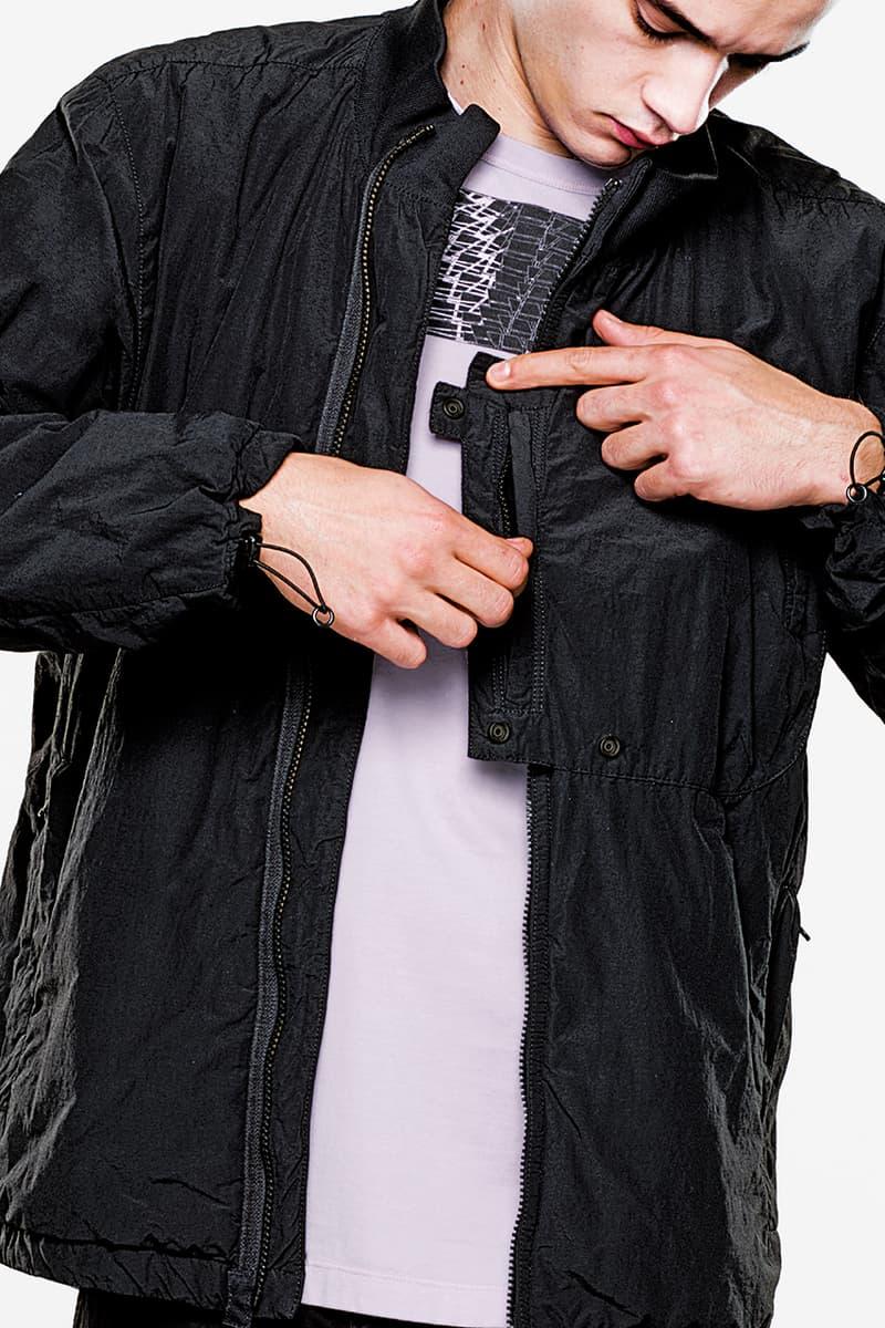 ストーン・アイランド シャドウ・プロジェクト アクロニウム エロルゾン・ヒュー Stone Island Shadow Project Spring/Summer 2019 Lookbook Lookbooks Fashion Clothing Errolson Hugh Apparel Footwear Print Innovative Buy Cop Purchase First Look