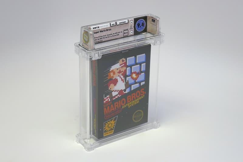 スーパーマリオブラザーズ 未開封 新品 未使用 ファミリーコンピュータ ファミコン 初代 マリオ 任天堂 オークション