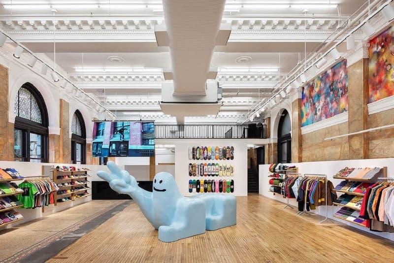 シュプリームがニューヨーク旗艦店の改装に伴う一時移転先の新店舗を公開
