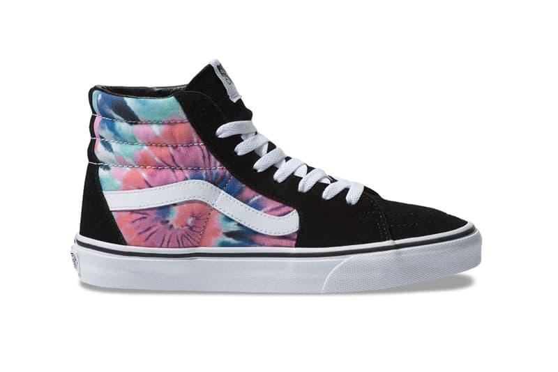 ヴァンズ スニーカー タイダイ Vans Slip On Old Skool Authentic First Look Release Date Tie-Dye Embroidery Details Buy Purchase