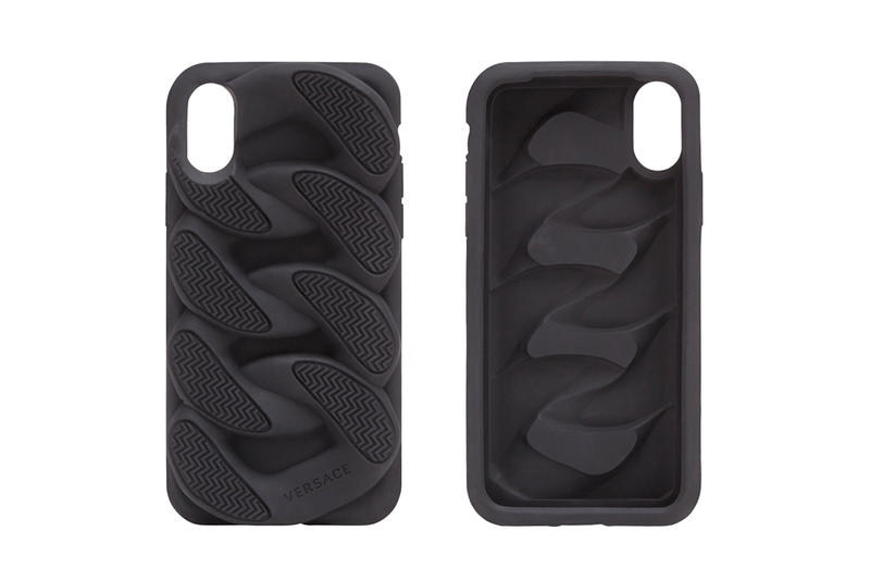 iPhoneケース ヴェルサーチェがチェーンリアクション Versace Chain Reaction Sole Unit iphone Case apple black release info