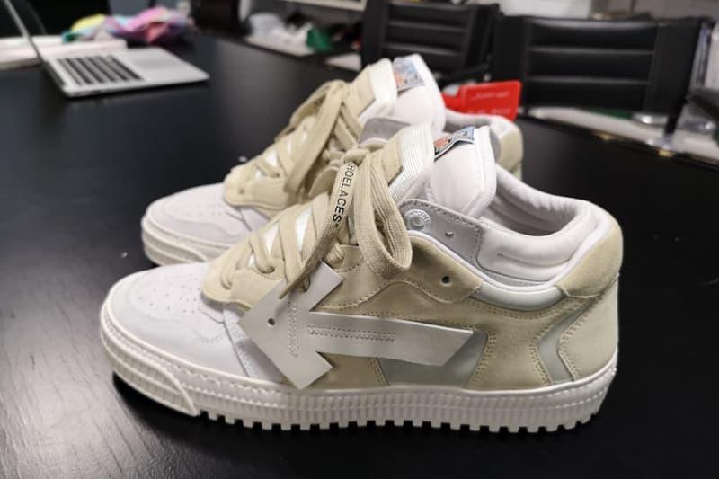 ヴァージル・アブロー オフホワイト 新作 スニーカー シューズ インスタグラム Virgil Abloh Teases Off-White™ 3.0 Off-Court Lows sneakers purple blue green beige off white than