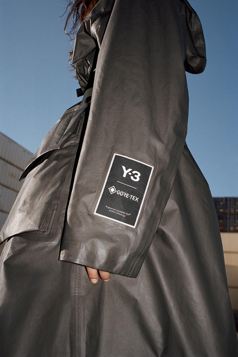 Y-3 GORE-TEX Utility hoodie Jacket Long Coat Pack release date drop info buy february 4 2019 black line ワイスリー