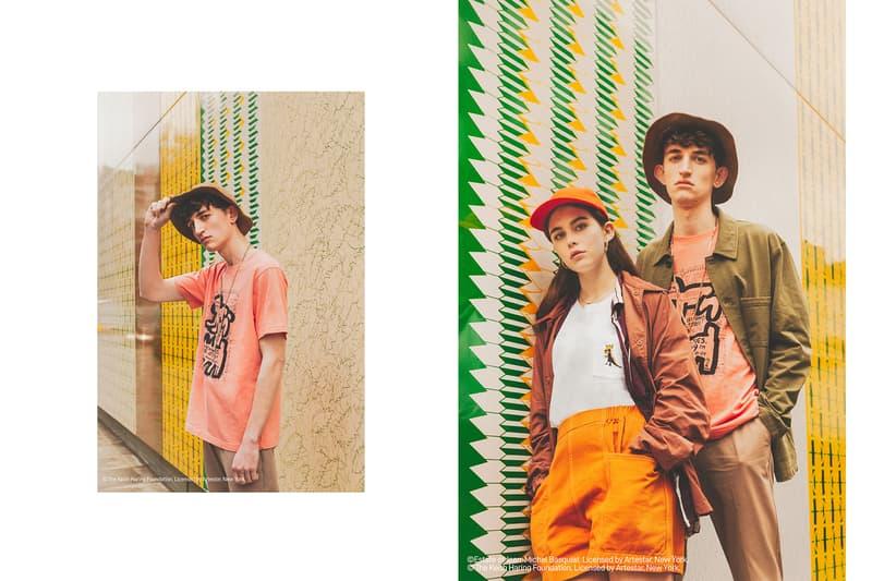 """アート文化が根付くロンドンで魅せる UNIQLO UT 2019年春夏シーズン """"SPRZ NY/Miranda July/Super GEO"""" 新旧アーティストによる時代を越えて愛されるTシャツをスタイルの異なる男女3名がスタイリッシュに纏う"""