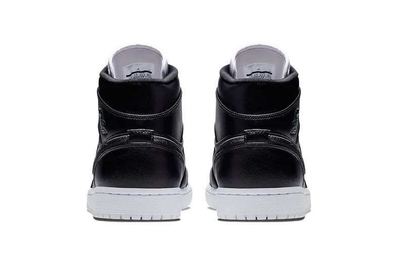 ジョーダンの名台詞をあしらったオールブラックの Air Jordan 1 Mid が登場 air jordan 1 mid maybe i destroyed the game 2019 footwear jordan brand black white