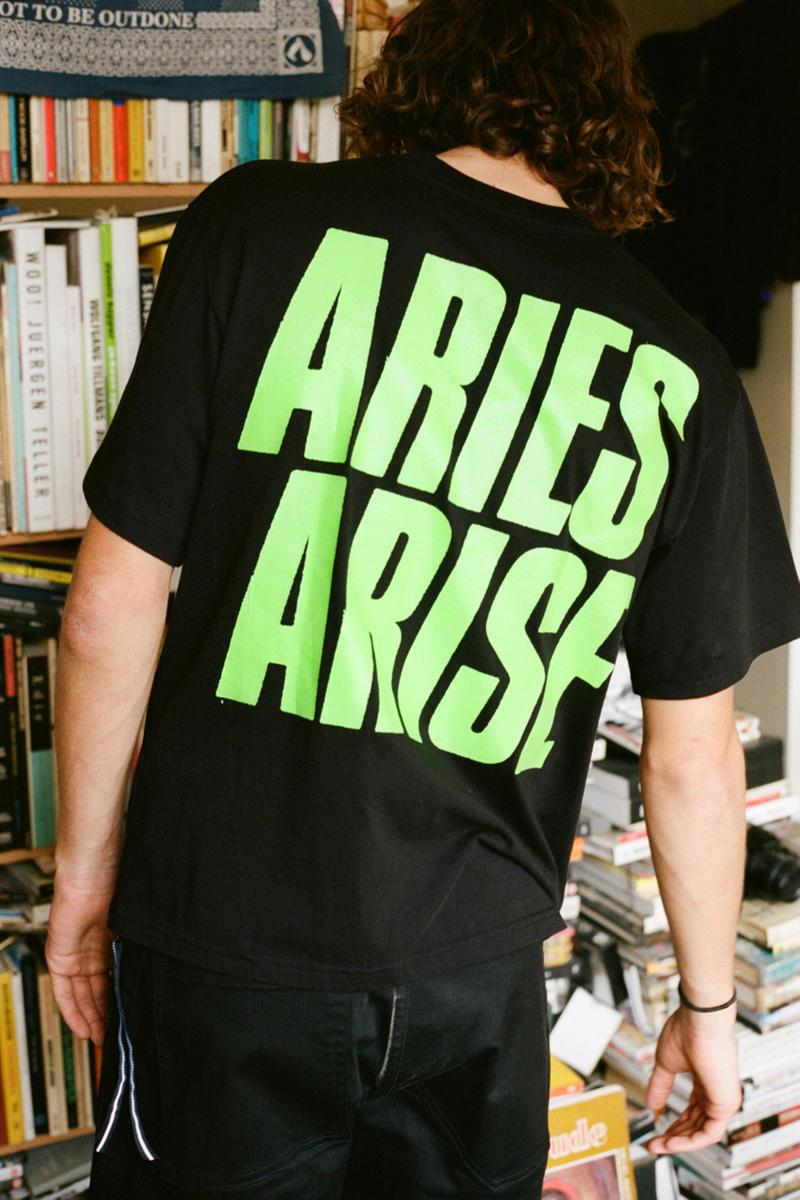 アリーズ aries aries spring summer 2019 ロンドン発 コンテンポラリーブランド mainline collection lookbook drop release date info buy london