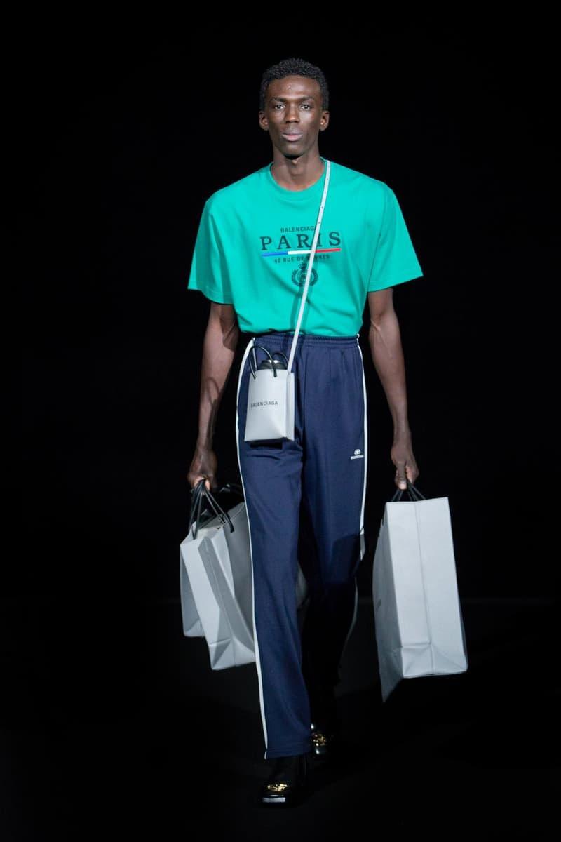 バレンシアガ 冬コレクション  パリファッションウィーク balenciaga fall winter 2019 fw19 runway collection show presentation pfw paris fashion week menswear