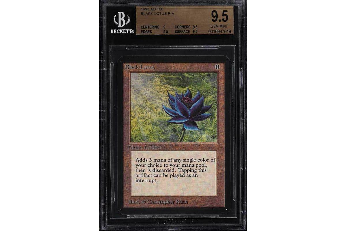マジック:ザ・ギャザリングのブラックロータスが天文学的な価格で落札される