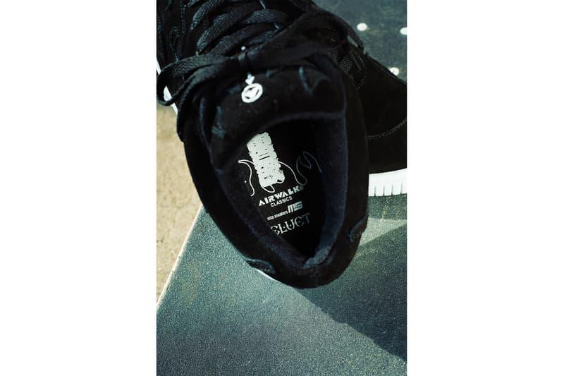 クラクト エアウォーク  ミタスニーカーズ  CLUCT x AIRWALK x mita sneakers SCOACH SP トリプルネーム 最新コラボスニーカーが登場