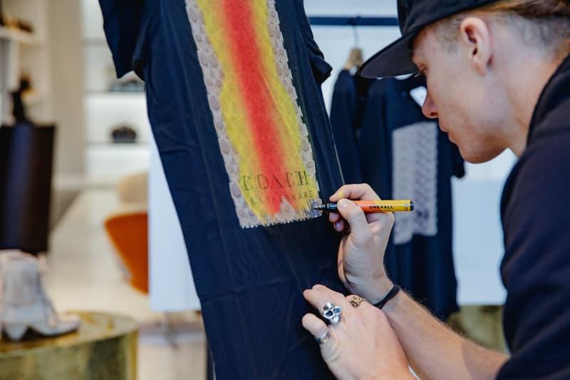 ストリートアーティスト WhIsBe を招聘した COACH によるライブペインティング・イベントに潜入