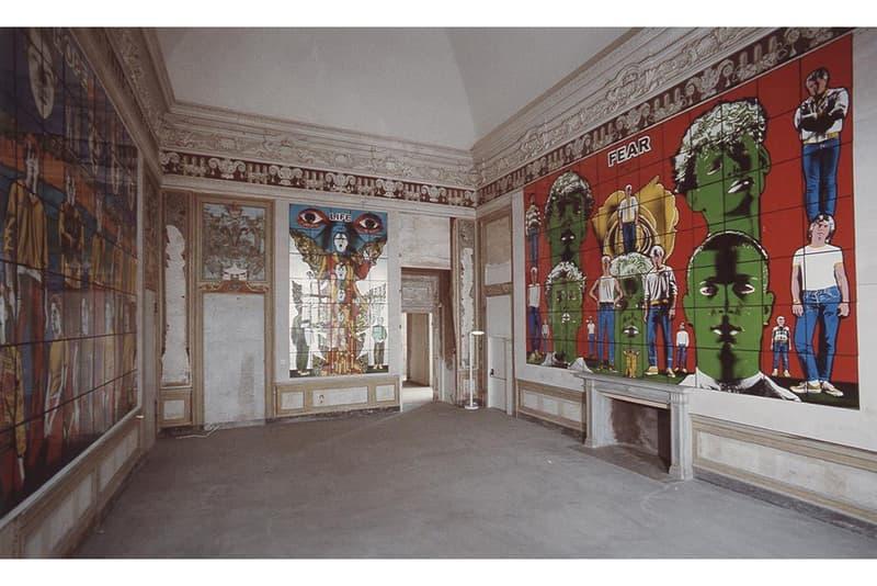 シュプリームがギルバート&ジョージとのカプセルコレクションを発表 Supreme がイギリスの現代アーティストデュオ Gilbert & George をフィーチャーしたカプセルコレクションを発表 Gilbert & George x Supreme SS19 Artist Series