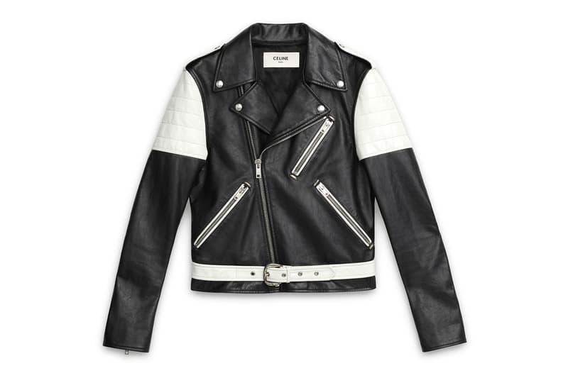 セリーヌ エディ・スリマン Hedi Slimane Debut CELINE Collection Online Release Available Leather Suit Jacket Pants T shirt