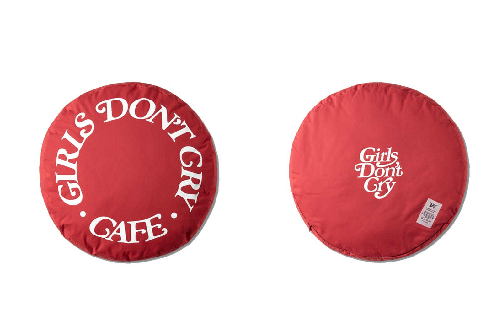 Girls Don't Cry:GDC Cafe Pillow