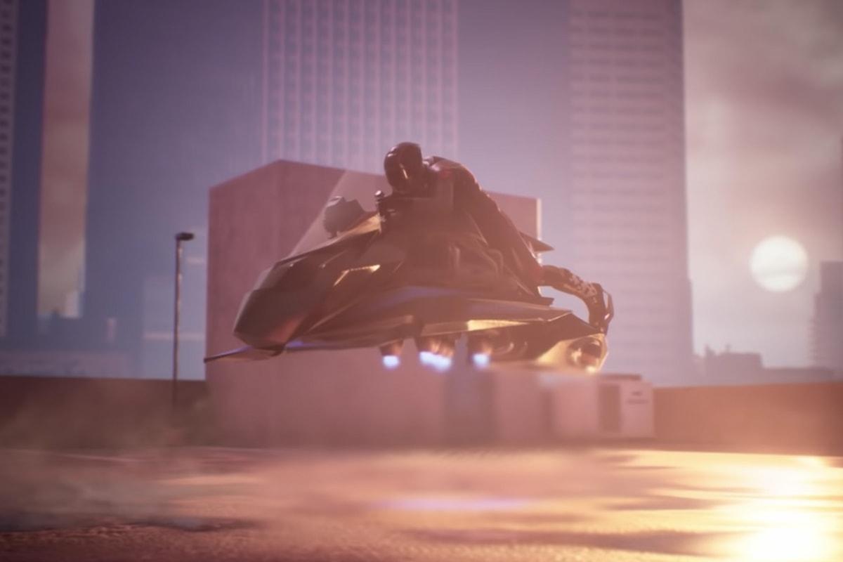 ジェットエンジンを搭載した世界初の空飛ぶバイク Speeder™ 予約販売がスタート