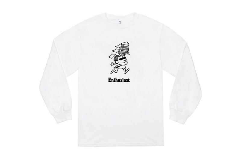 JJJJound JJJJound Enthusiast T-Shirt Release White JJJJ Fun Products