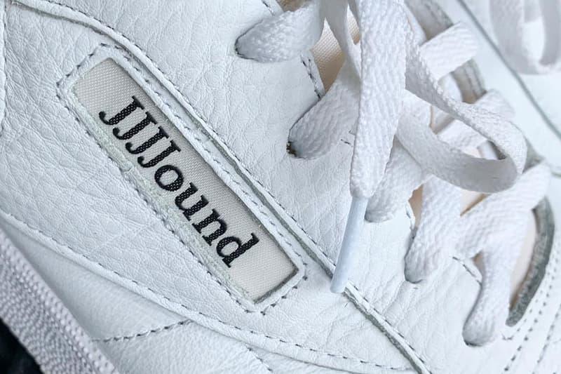 JJJJound が Reebok リーボック とのコラボフットウェアを公開 JJJJound Reebok classics Club C 85 Collab Teaser Info sneaker spring summer 2019 drop release date buy ss19