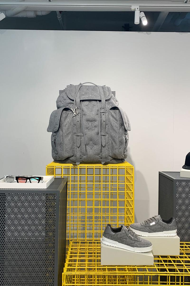 Louis Vuitton Fall 2019 Showroom Accessories collection photos exclusive virgil abloh on body toy collectible release price