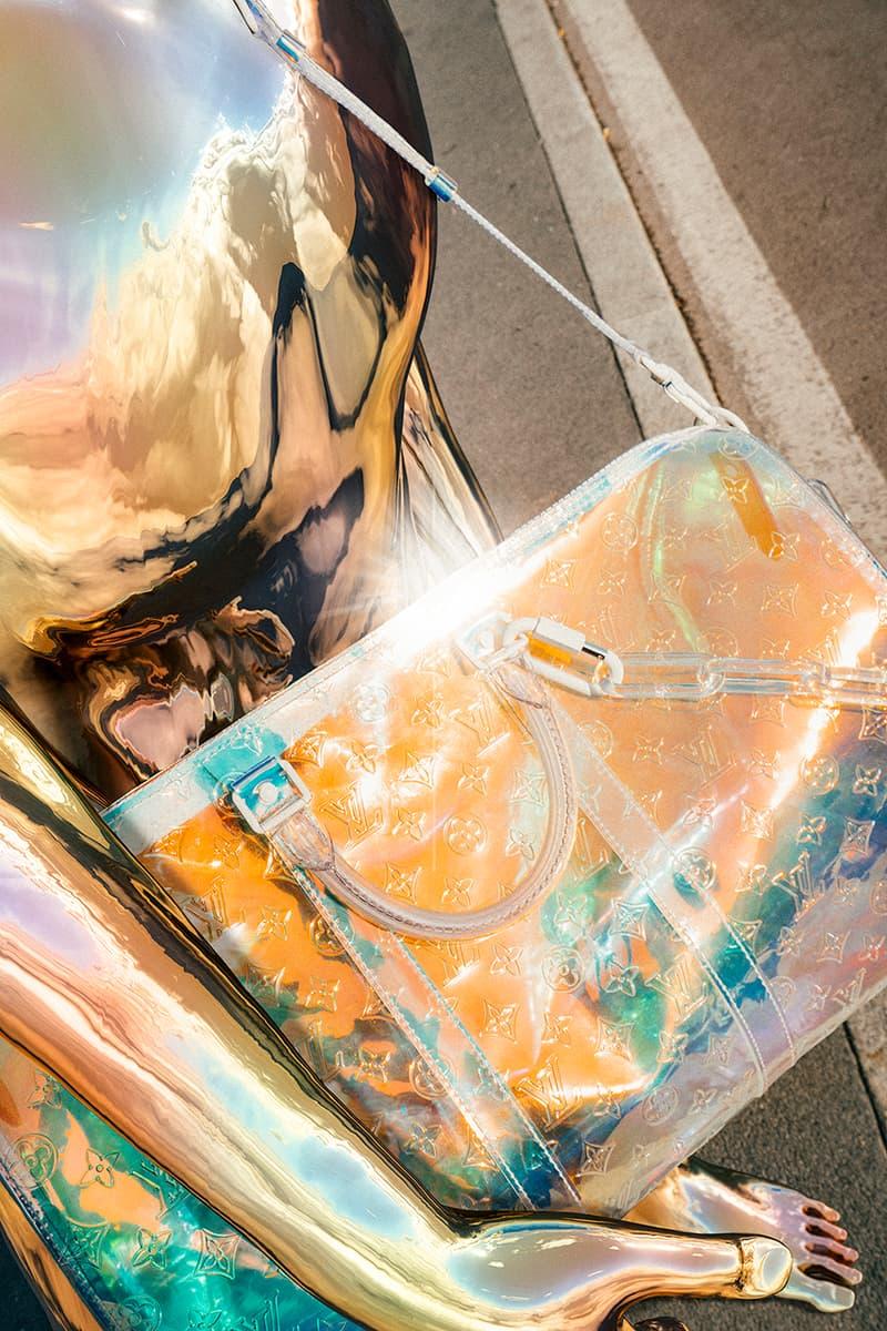 ヴァージル・アブロー ルイヴィトン アクセサリー Louis Vuitton Spring/Summer 2019 NSS Magazine Editorial Humanoids Virgil Abloh Accessories Bag Luggage Baggage Monogram Harness Closer Look Digital