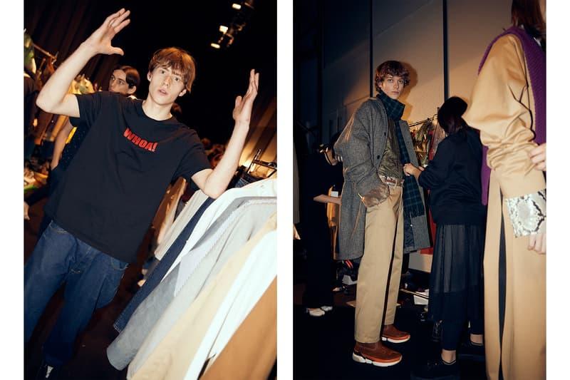 ミスター・ジェントルマン MISTERGENTLEMAN バックステージ 東京ファッションウィーク Amazon Fashion Week Tokyo 2019 A/W