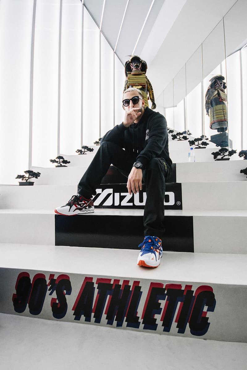 MIZUNO ミズノ WAVE RIDER 1 ウェーブ ライダー スニーカー フットウエア シューズ SHINZO フランス パリ 90's Athletic コレクション ローンチ パーティー