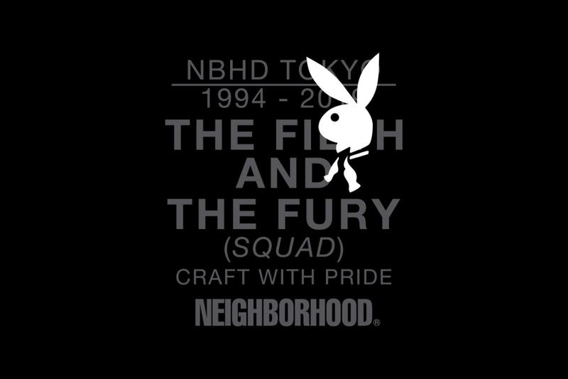 NEIGHBORHOOD playboy ネイバーフッド プレイボーイ コラボレーション