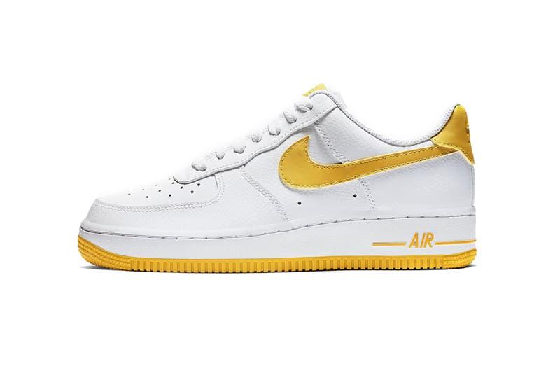 ナイキ エアフォース スニーカー nike air force 1 white yellow 2019 footwear nike sportswear