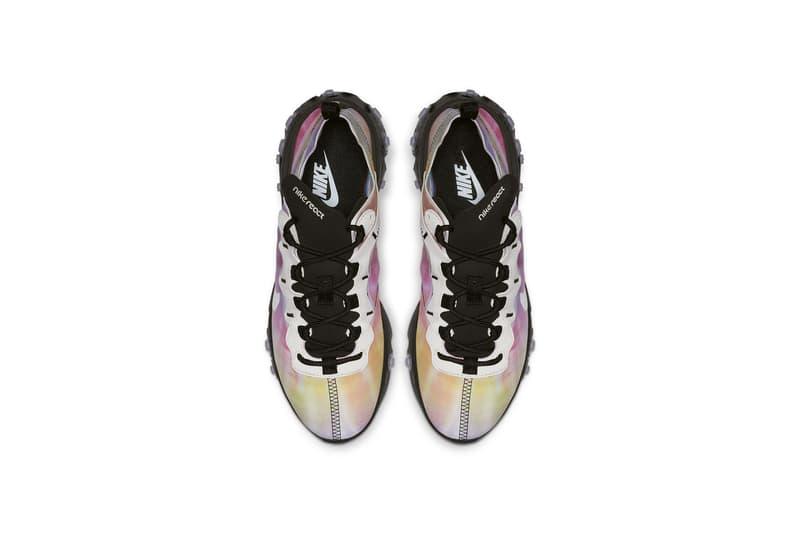 ナイキ リアクトエレメント タイダイ柄  シューズ  Nike React Element 55 Tie-Dye Colorway Release