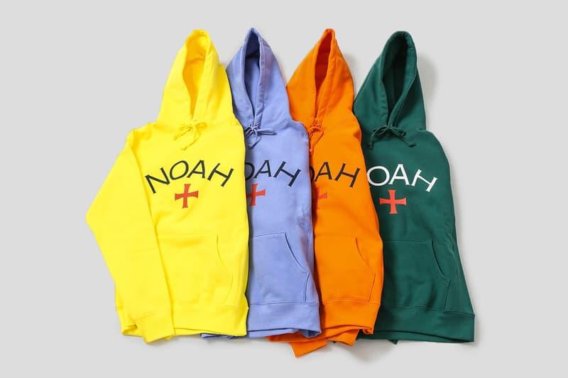 ノア NOAH Core Logo Hoodie コアロゴフーディー NOAH clubhouse 原宿 オンライン