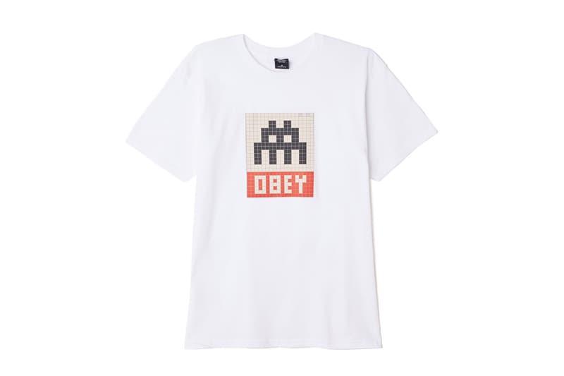 OBEY オベイ インベーダー INVADER 世界的 ストリート アーティスト コラボ アパレル パーカー Tシャツ フーディー