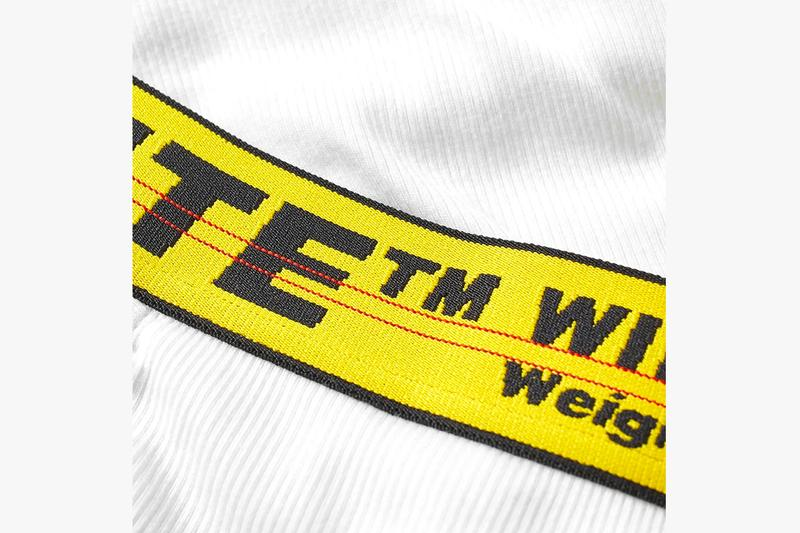 オフホワイト Off-White™ ヴァージル・アブロー Releases Boxer Brief 3-Packs white black industrial belt made in italy yellow boxers underwear undergarments virgil abloh