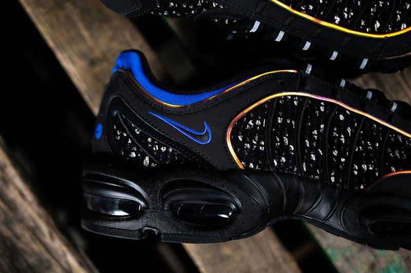シュプリーム x ナイキ エア テイルウィンド 4 Supreme x Nike Air Tailwind IV Closer Look Sneakers Kicks Shoes Trainers Footwear Cop Purchase Buy Online Instore Soho London America New York Brooklyn Los Angeles White Black Colorway