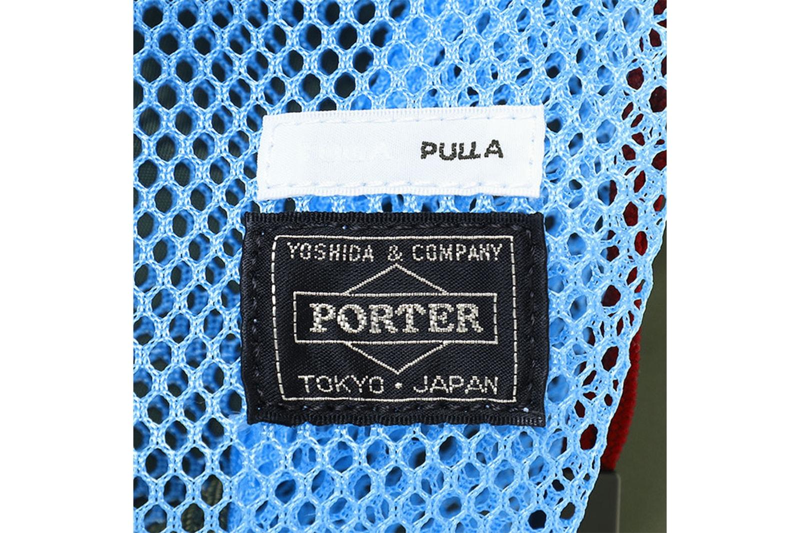 トーガ プルラ ポーター  TOGA PULLA PORTER コラボ トランクショー バッグ 品川駅構内 スタンド PORTER STAND 開催