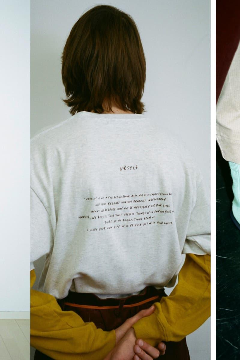 urself ユアセルフ オンライン パンツ Tシャツ ベルト スリッパ 長場雄 後藤啓太 IMA:ZINE