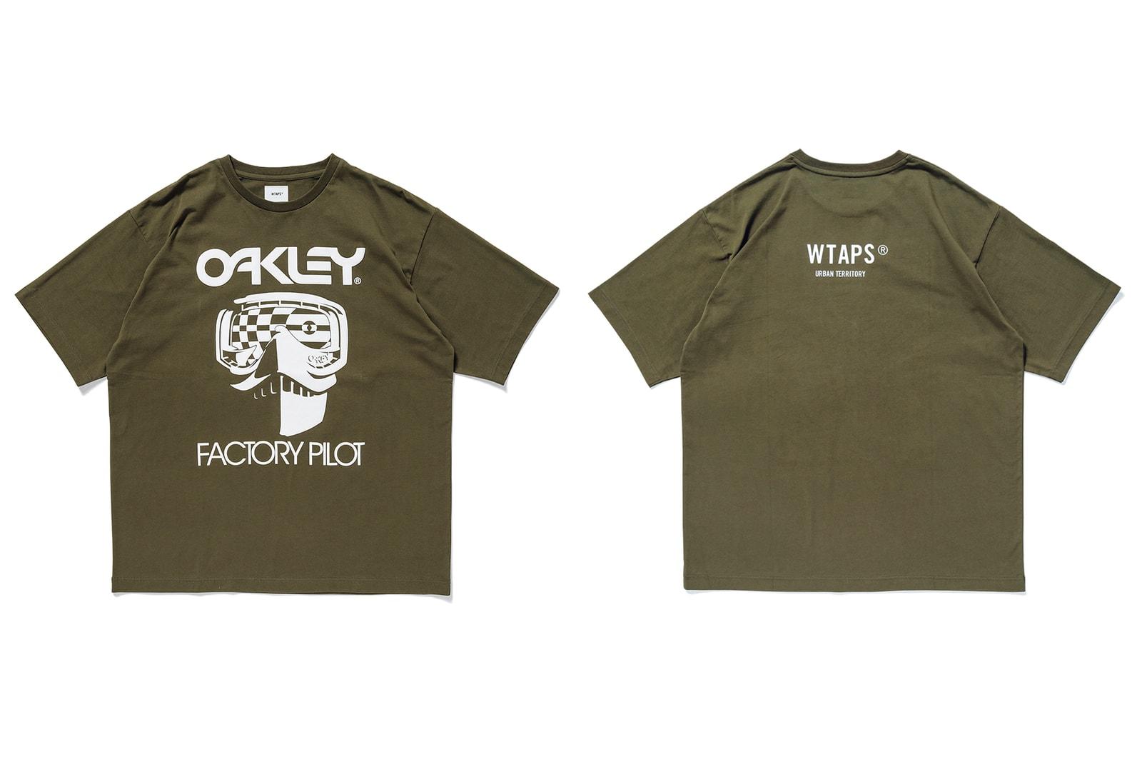 ダブルタップス×オークリー WTAPS OAKLEY コラボ コラボ ラッチ サングラス ジャケット Tシャツ パンツ コレクション 発売