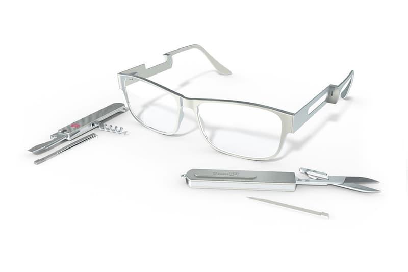 米アイウェアショップ ナイフメーカー ビクトリノックス メガネ Glassesusa Victorinox Swiss Army Survival Rx Glasses