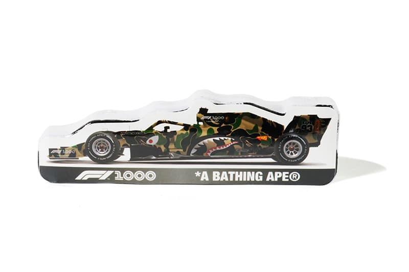 ベイプ F1 フォーミュラー1 BAPE A BATHING APE コラボ オンライン アイテム 発売 情報 取り扱い 中国GP