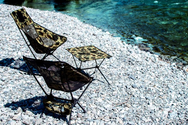 ベイプ ヘリノックス BAPE Helinox チェア テーブル テント タープ オンライン 発売日 価格 エイプ オンライン