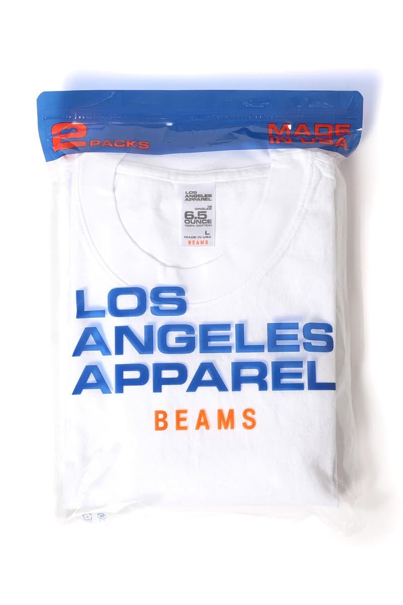 ビームス ロサンゼルスアパレル  Tシャツ オンライン BEAMS Los Angeles Apparel アメアパ アメリカンアパレル American Apparel