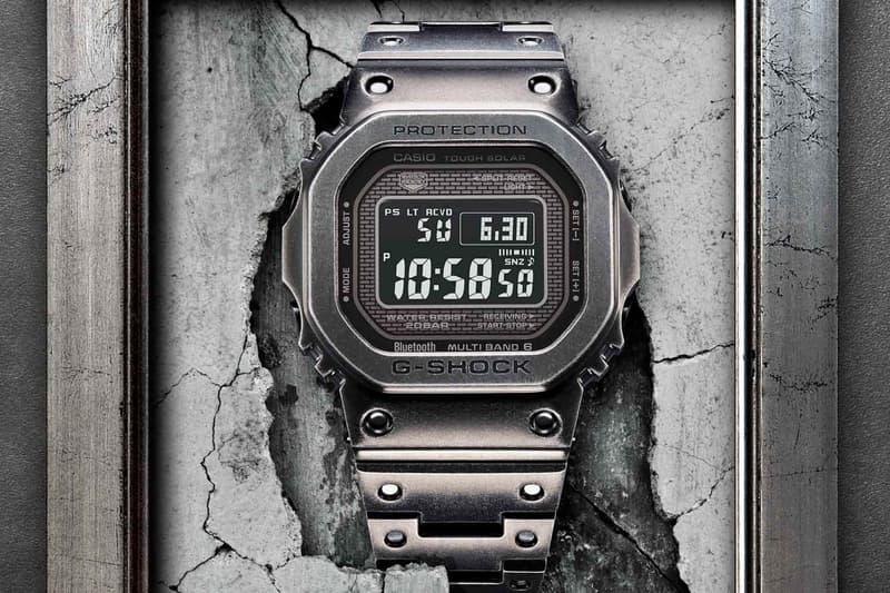 G-SHOCK ジーショック フルメタル GMW-B5000V エイジング加工 オンライン 価格 Baselworld バーゼルワールド