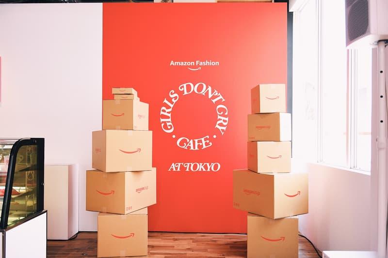 ガールズドントクライ アマゾンファッション オンライン Amazon Fashion Tシャツ フーディ バンダナ トートバッグ 会場 住所 抽選 詳細