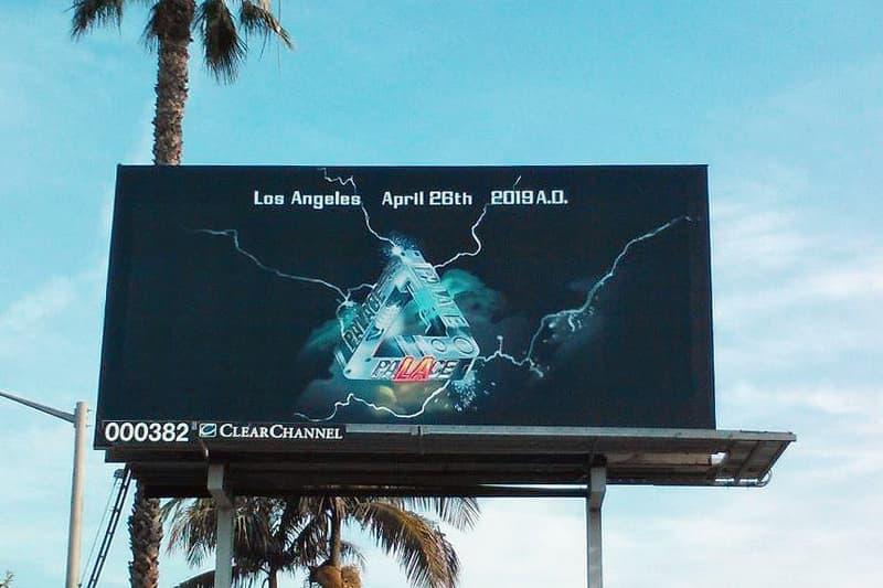 パレス ロサンゼルス PALACE SKATEBOARDS オープン記念アイテム Tシャツ 住所 場所 地図