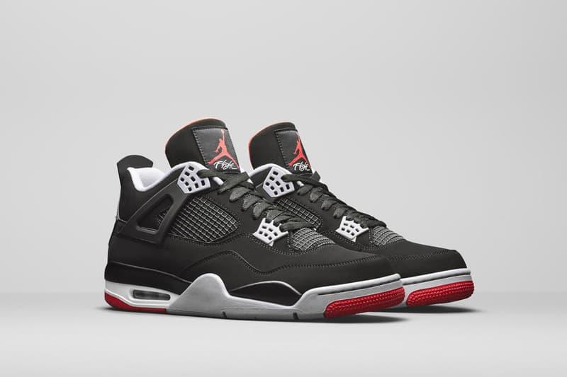 ナイキ Nike エアジョーダン 4 マイケル・ジョーダン Air Jordan 4 ブレッド Bred 2019 Retro First Look Jordan Brand Michael Jordan